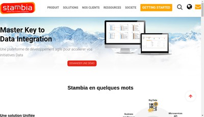 Site internet de Stambia