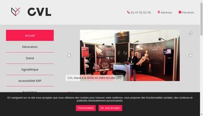 Site internet de Standeco Centrexpo
