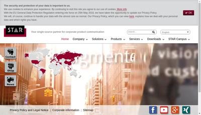 Site internet de www.star-france.fr