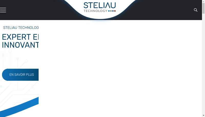 Capture d'écran du site de Steliau Technology
