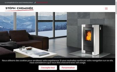 Site internet de Steph Cheminee