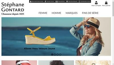 Site internet de Stephane Gontard