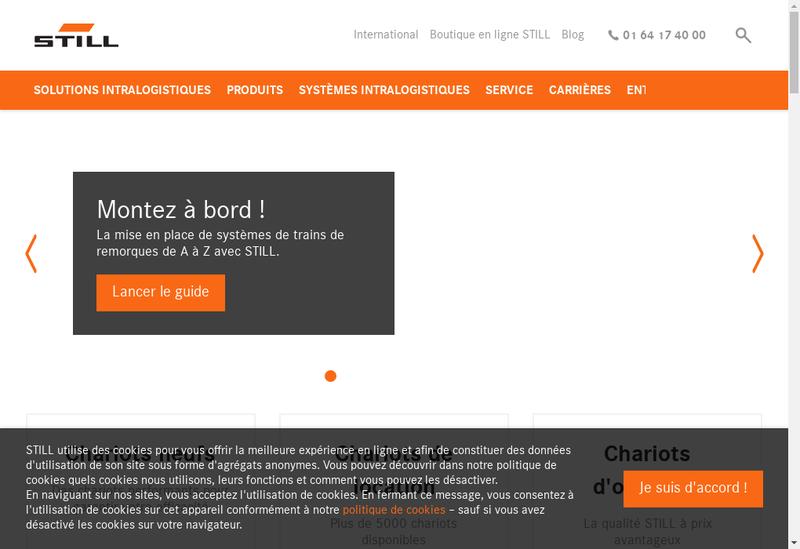 Capture d'écran du site de Still Location Services