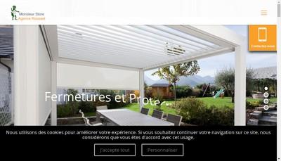 Site internet de Agence Rousset Fermeture et Securite