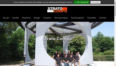 Site internet de Strato Compo