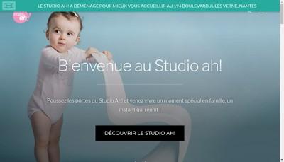 Site internet de Studio Ah