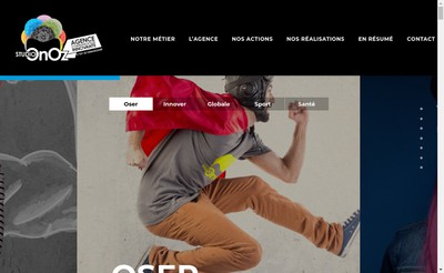 Site internet de Studio Onoz
