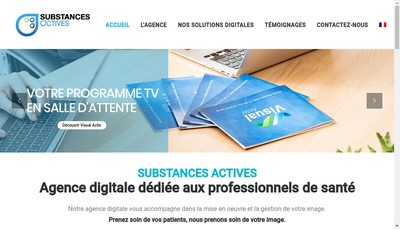 Site internet de Substances Actives