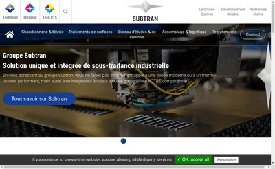 Site internet de Tech-Rts