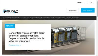 Site internet de Sudac Air Service