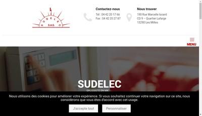 Site internet de Sudelec
