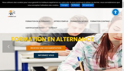Site internet de Sud Formation Conseil