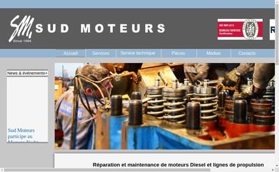 Site internet de Sud Moteurs Groupe