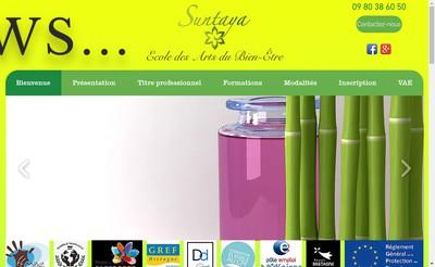 Site internet de Suntaya