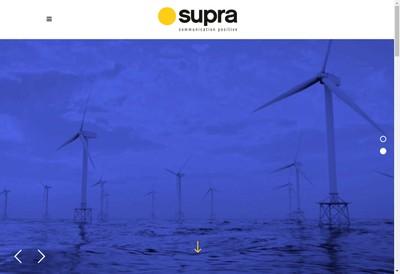 Site internet de Supra Communication