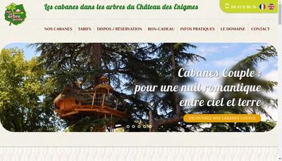 Site internet de Sur un Arbre Perche
