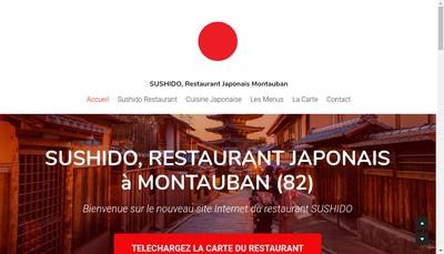 Site internet de Sushido