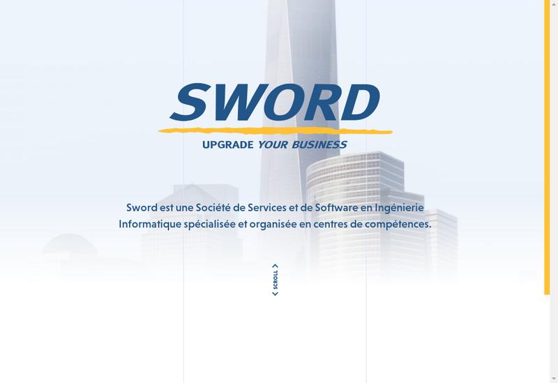 Capture d'écran du site de Colombus Consulting Shift