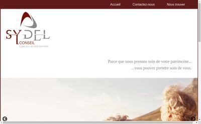 Site internet de Sydel Conseil