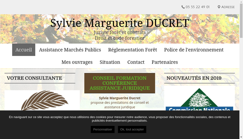 Capture d'écran du site de Aprores