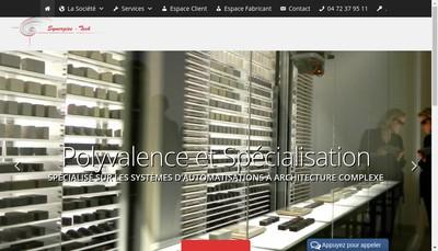 Site internet de Synergies-Tech