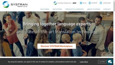Site internet de Systran