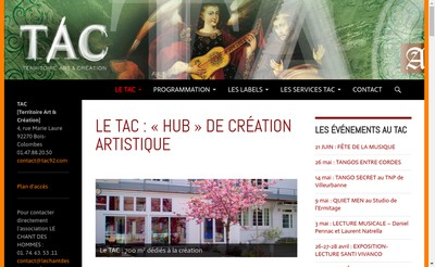 Site internet de TAC