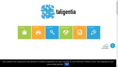 Site internet de Taligentia