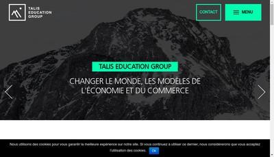 Site internet de Talis Itineraire Emploi