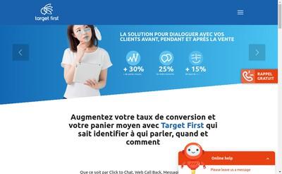 Site internet de Target First