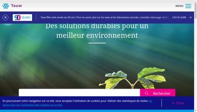Site internet de Tauw France