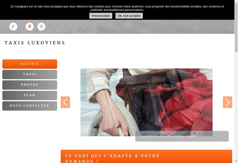 Capture d'écran du site de Sthvo