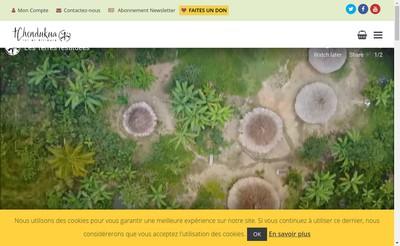 Site internet de Tchendukua Ici et Ailleurs