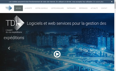 Site internet de Transfert Developpement Informatique