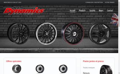 Site internet de Team Dynamics