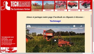 Site internet de Techmagri