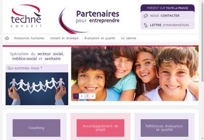 Site internet de Techne Conseil