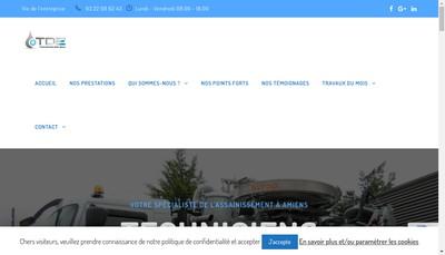 Site internet de Techniciens des Eaux