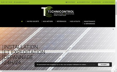Site internet de Technicontrol