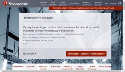 Site internet de Technocarne