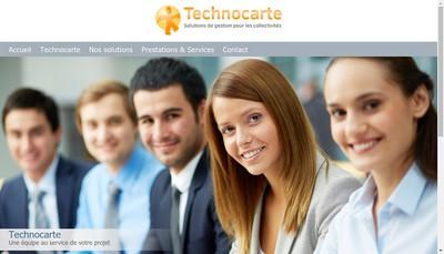 Site internet de Technocarte