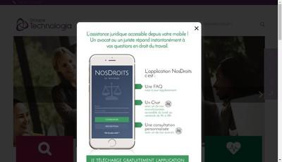 Site internet de Technologia SA