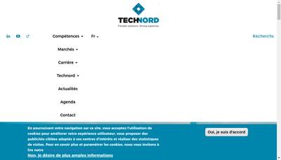 Site internet de Technord France
