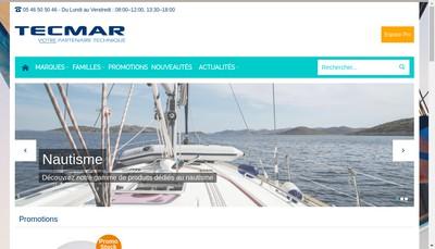 Site internet de Tecmar