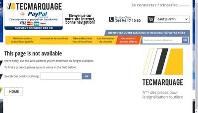 Site internet de Tecmarquage