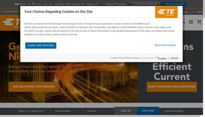 Site internet de Humirel Entran - Atex