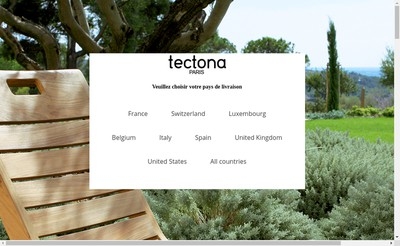 Site internet de Tectona