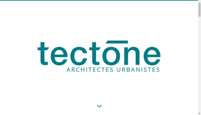 Site internet de Tectone
