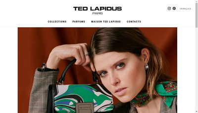 Site internet de SAS Ted Lapidus