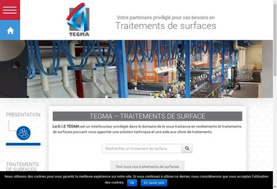 Site internet de Fini Metaux